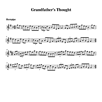 Grandfather's Thought