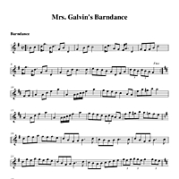 Mrs. Galvin's Barndance